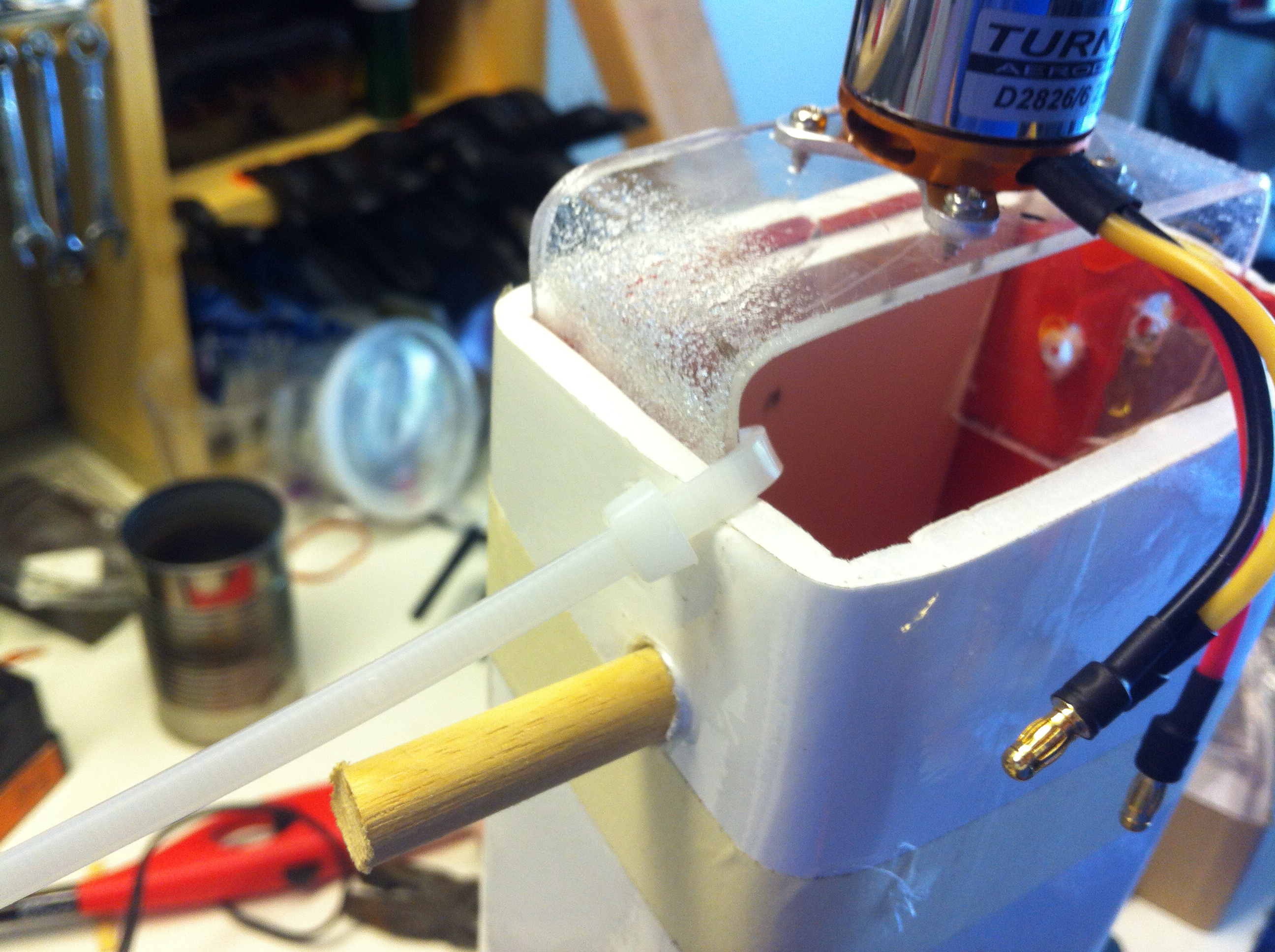 Picture of Step Three: Motor Mount