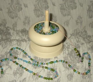 Picture of Seed Bead Spinners - Bead Stringing Tool