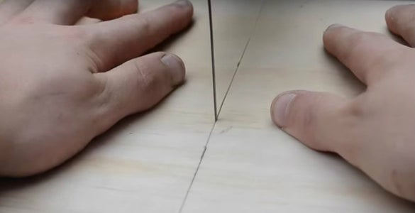 Marking and Cutting Sides