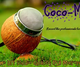 Coco-Mic --- The DIY Studio Quailty USB Mic (MEMS technology)