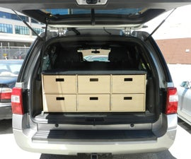 Cargo Container for a 2011 FORD Expedition