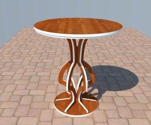Decorative Caffe Table