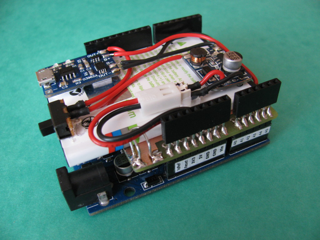 Picture of Arduino Battery Shield