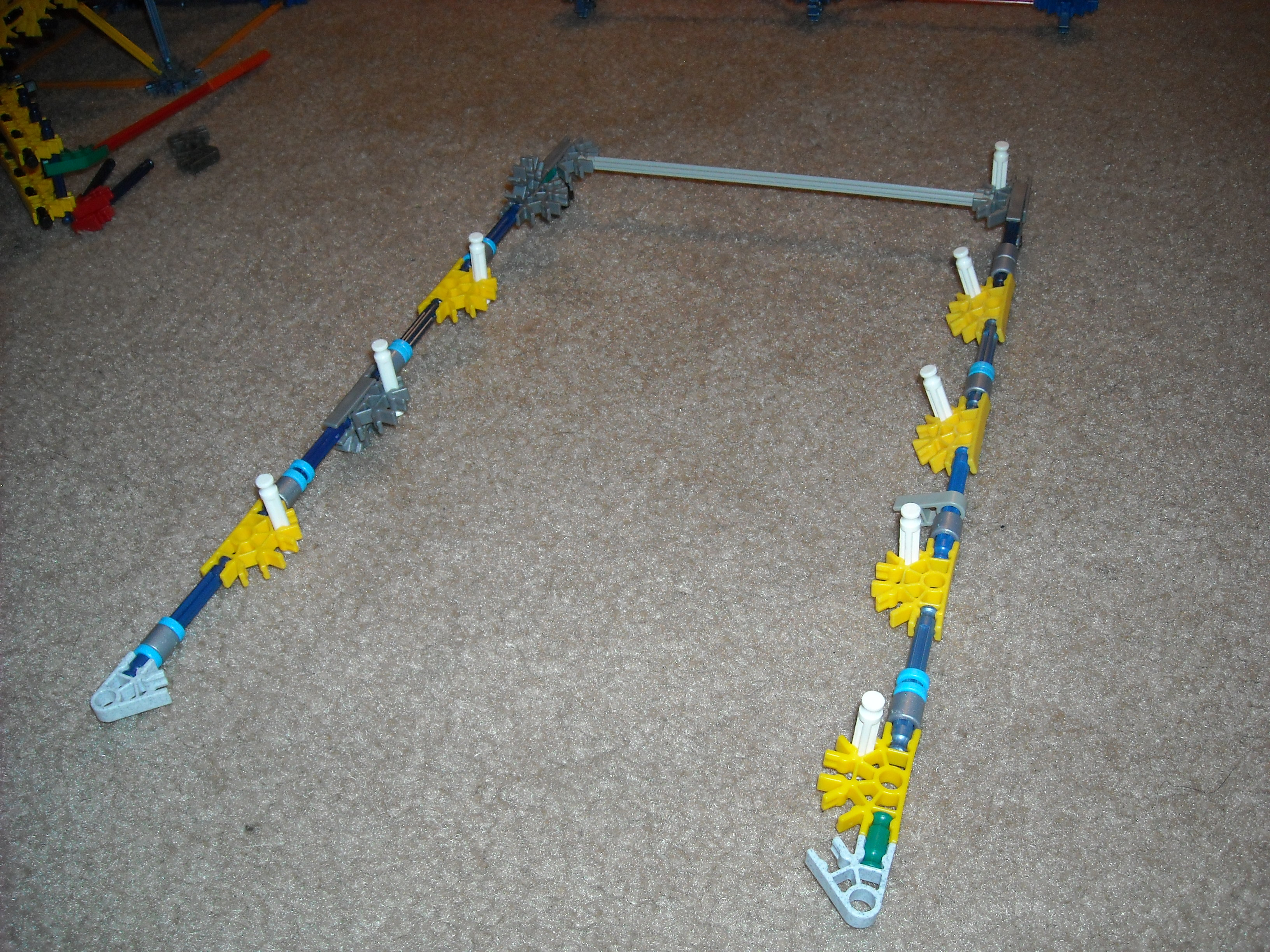 Picture of Knex Ball Machine Element ZigZag Stairs Made Simple