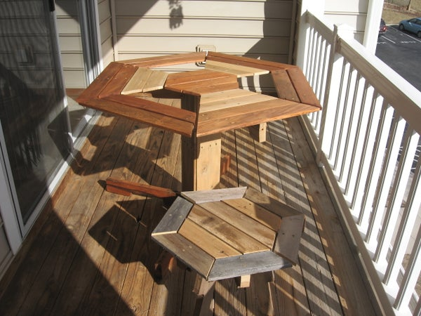 Broad Pallet Patio Furniture