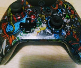 Hydro Dip Custom Xbox One Controller