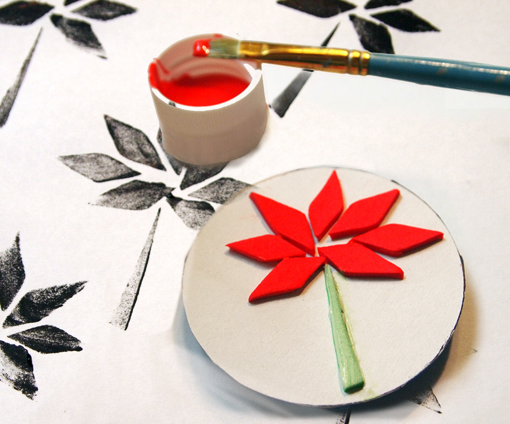 Picture of DIY Simple Stamps From Foam
