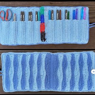 Crocheted, Crochet Hook Storage Case