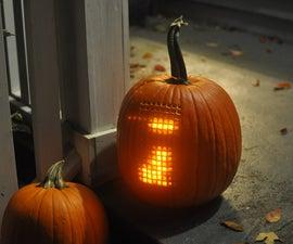 Pumpktris - The Tetris Pumpkin