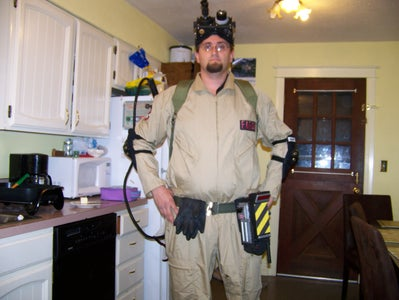 Make a Ghostbusters Costume