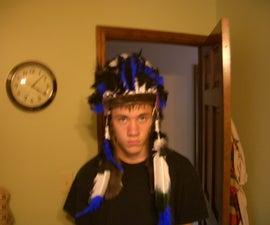 Make a native american cheif hat (war bonnet)