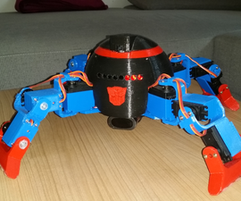 Quadbot for 250€ (only walking 180€)