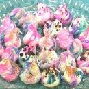Colorful Meringue Cookies