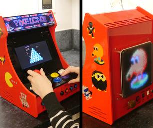PIXELCADE - Mini Bartop Arcade With Integrated PIXEL LED Display