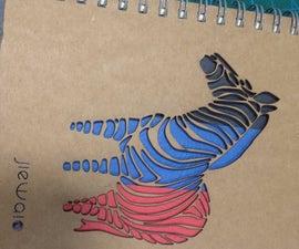 Laser Cut Notebook
