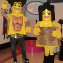 LEGO Jersey Shore - Pauly D and Snooki