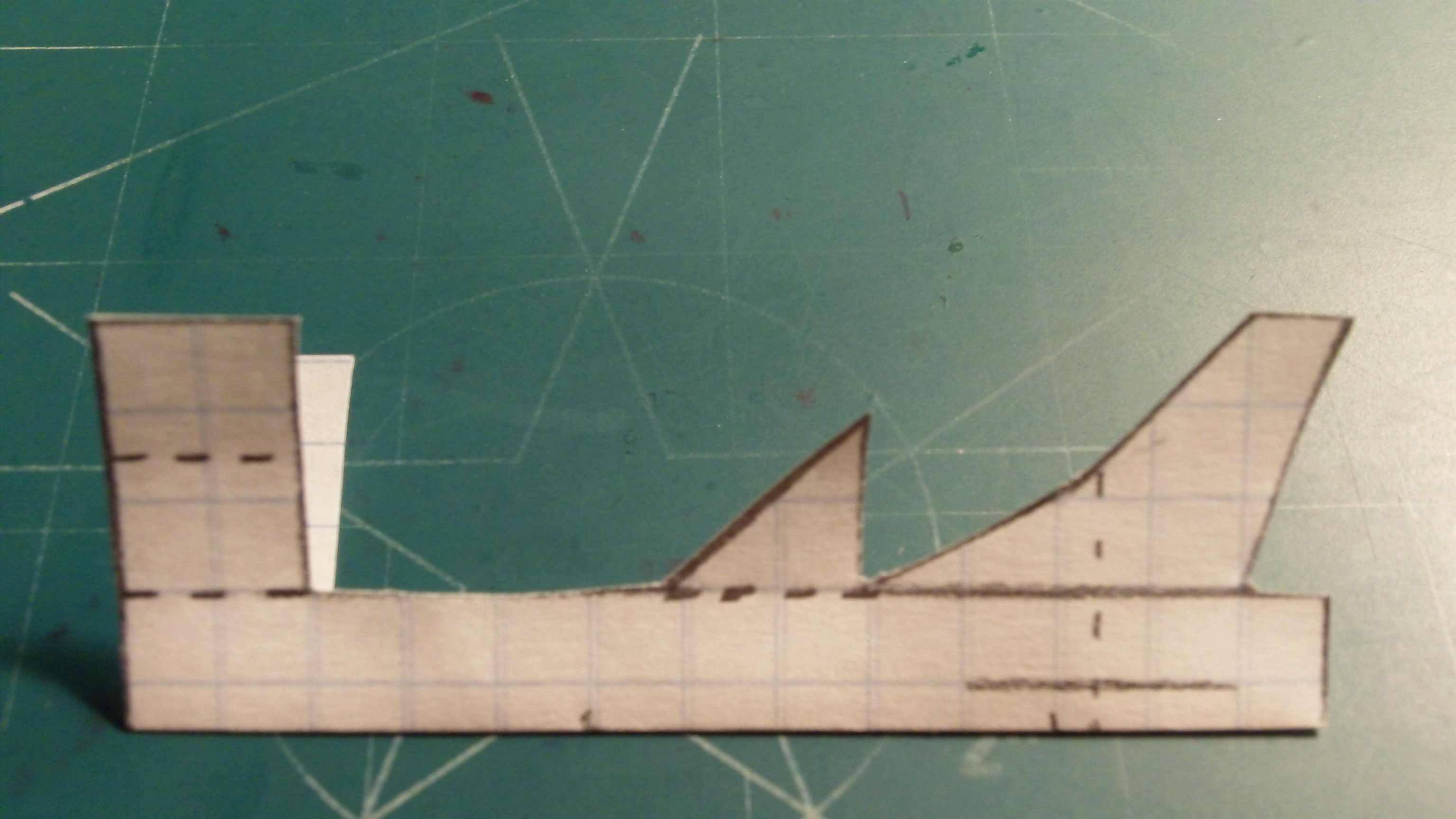 Picture of Making the Rudder and Fuselage