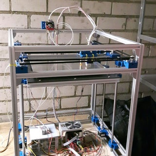 Vulcanus MAX - CoreXY Aluminum Frame 3D Printer Scale UP