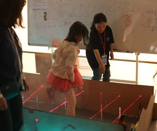 Mission Impossible Game - Laser Security