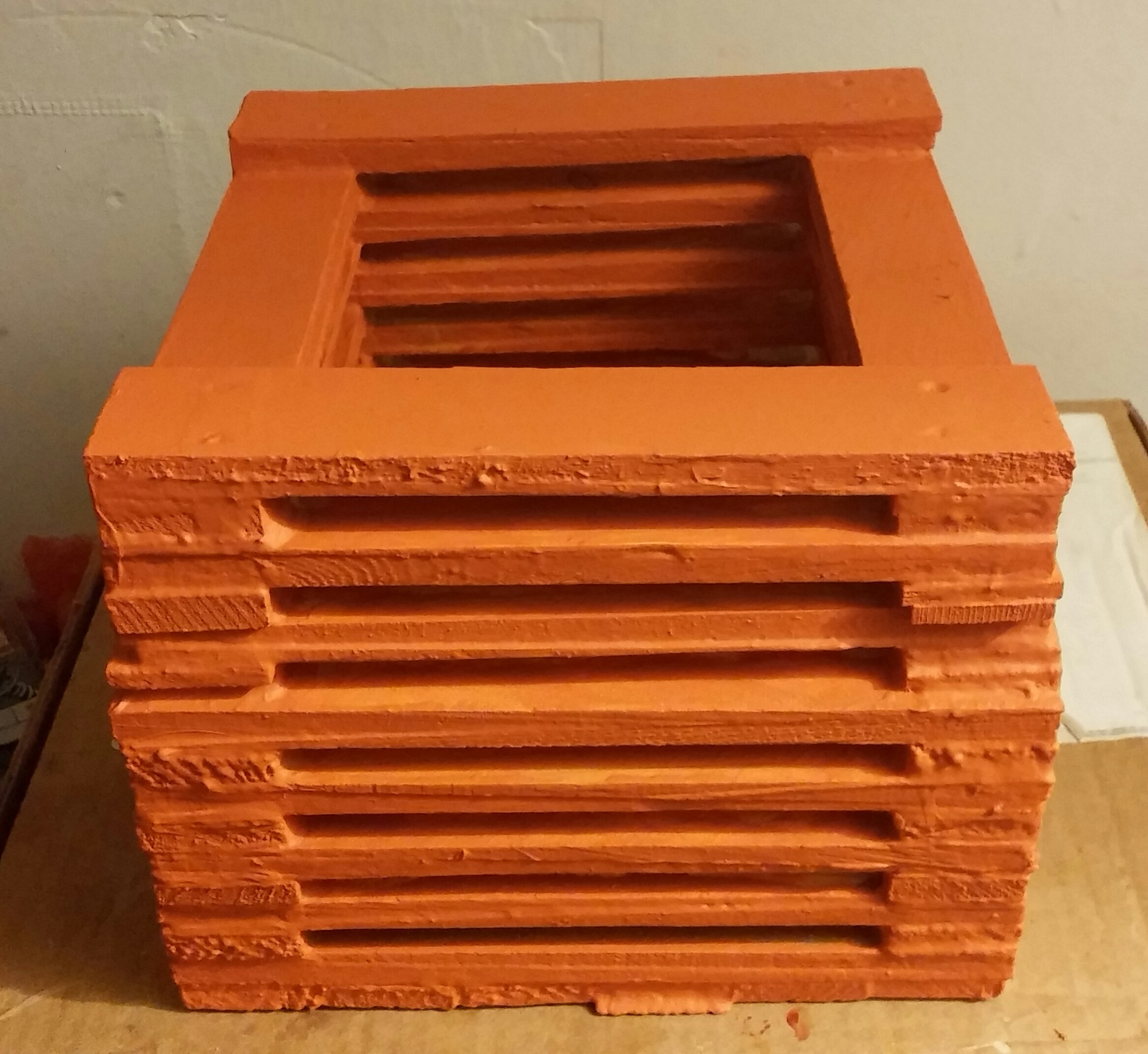Picture of Box Made From Wood Shims - Version 2
