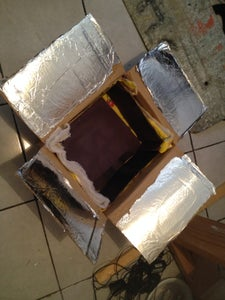 Creating the Oven Box and Insulation
