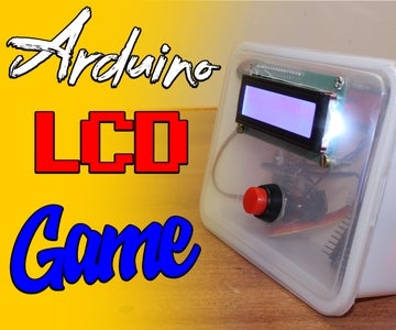 Arduino LCD Stick Man Game!