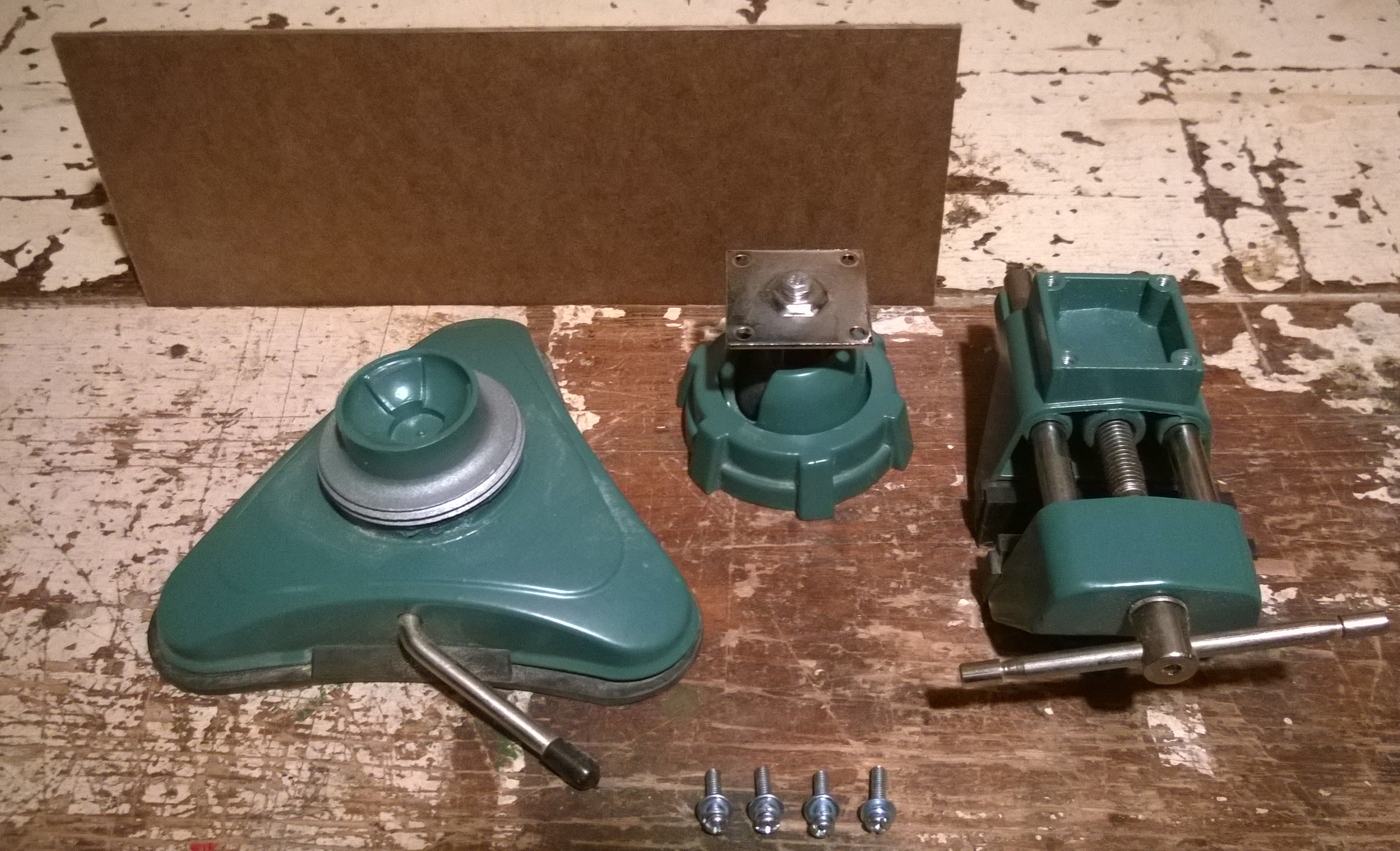 Picture of Disassemble Vise