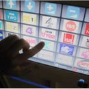 Make TVs and DVDs accessible - large touchscreen controller