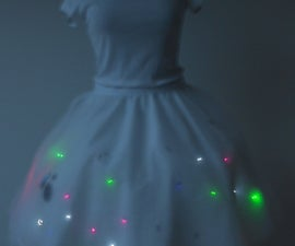 How to make a LilyPad Arduino LED skirt