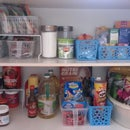 How to organise your kitchen pantry.