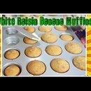 White Raisin Banana Muffins