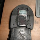 Wearable Shoe Phone