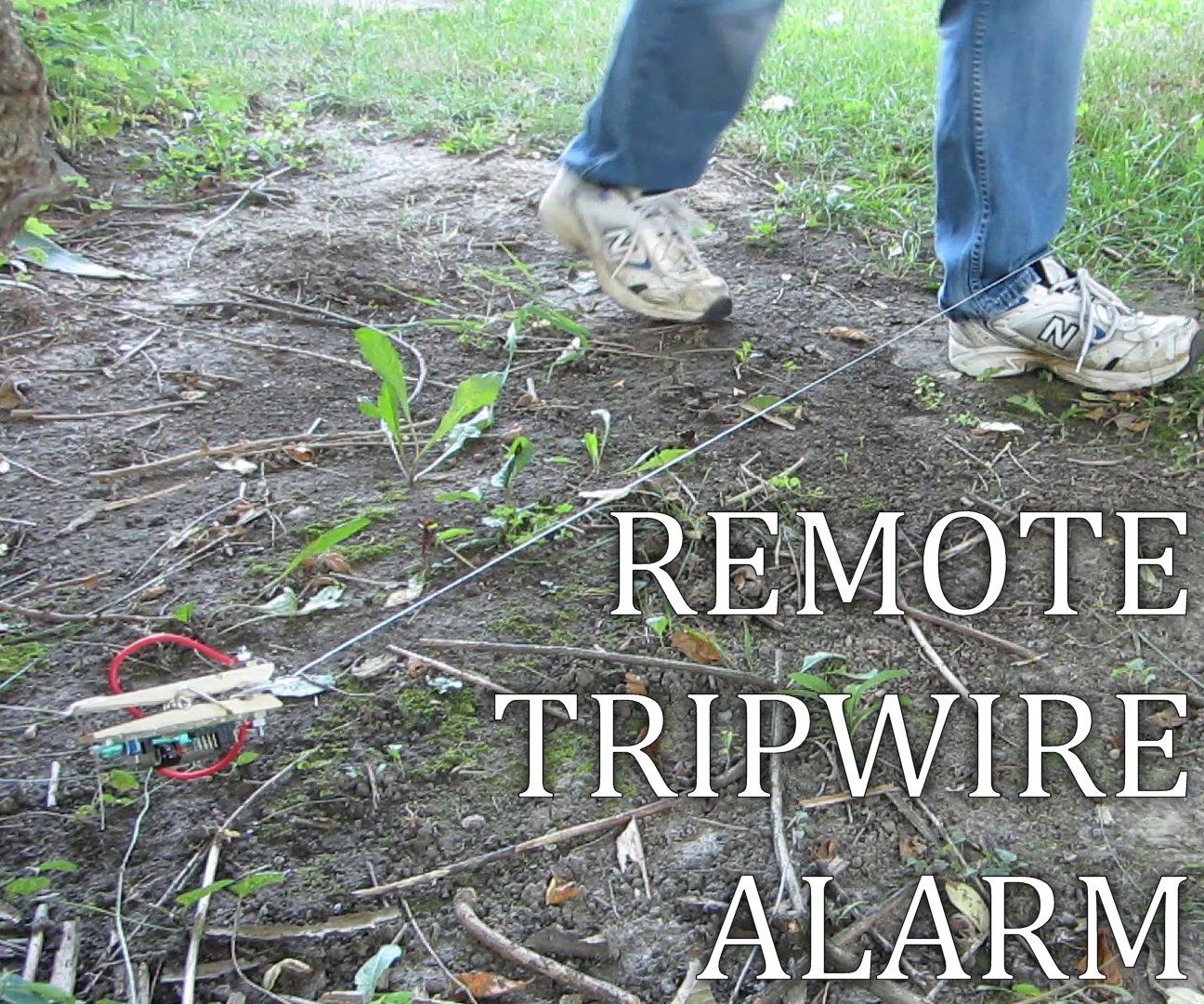 Picture of Remote Tripwire Alarm