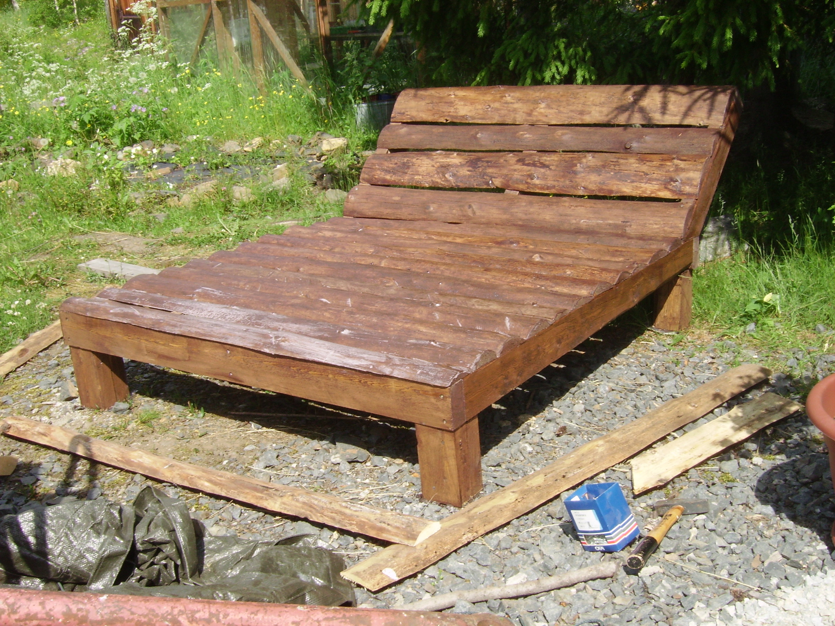 Picture of Sanding, Staining and Finishing Touches