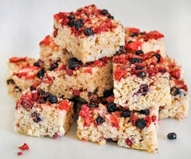 Berry Rice Krispie Treats