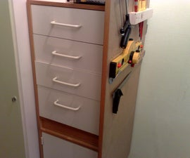 Very Easy:  Cheap Tool Cabinet