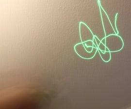 Programmable Laser Light Show --  Arduino Controlled