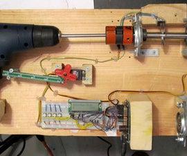 Controlling Hand Drill with Roboduino / Arduino to Spool Solder
