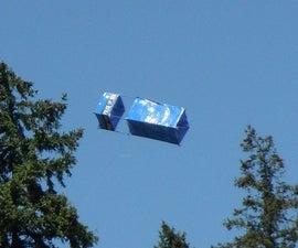 TARDIS Box Kite