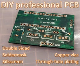 DIY Professional Double Sided PCB