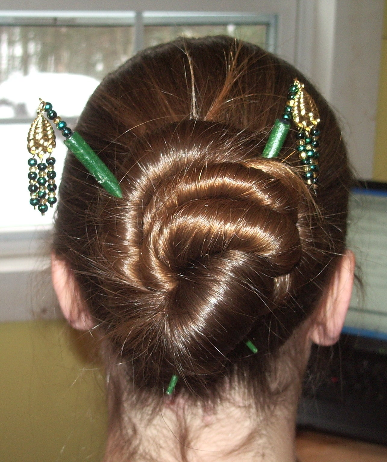 Hairstyles for Hair Sticks 9 Steps with Pictures