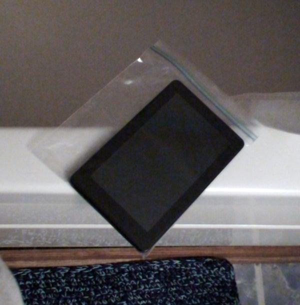 Waterproofing Your Kindle (ipad, Tablet, Nook...)