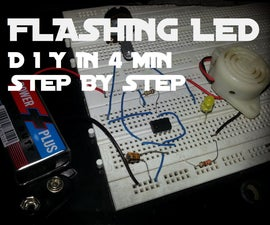 DIY Flashing LED