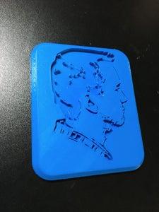 3D Printed Portrait