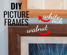 Making Picture Frames for Your Home
