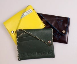Leathercrafting: make your own personalized wallet!