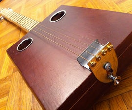 Build an Inexpensive Cigar Box Guitar at Home