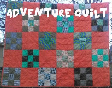 An Adventure Quilt!