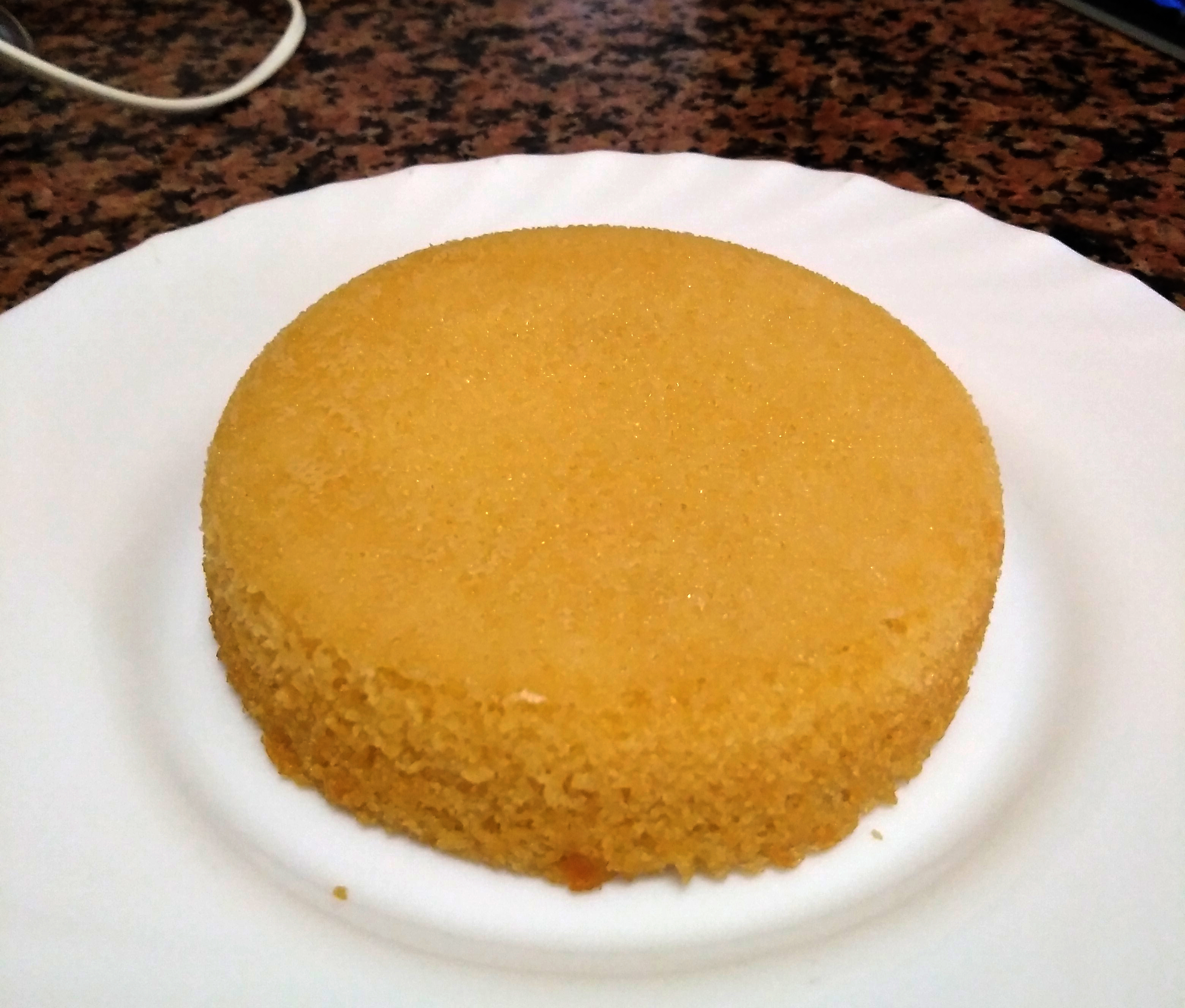Picture of First Test. Baking a Cake.