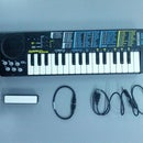 Add an internal battery to an electronic toy piano